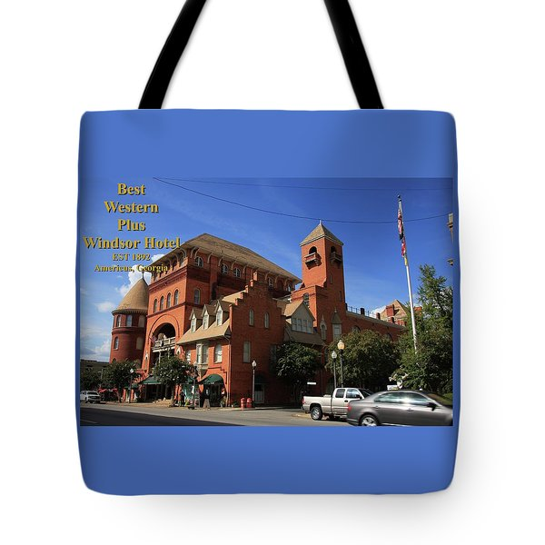 Best Western Plus Windsor Hotel -2 Tote Bag