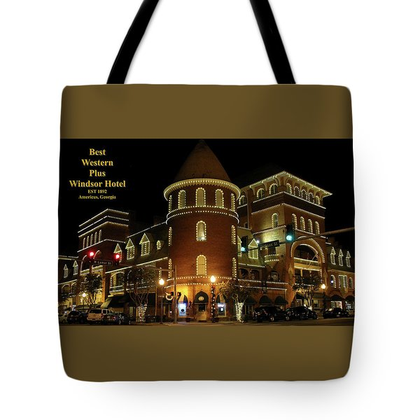 Best Western Plus Windsor Hotel - Christmas Tote Bag