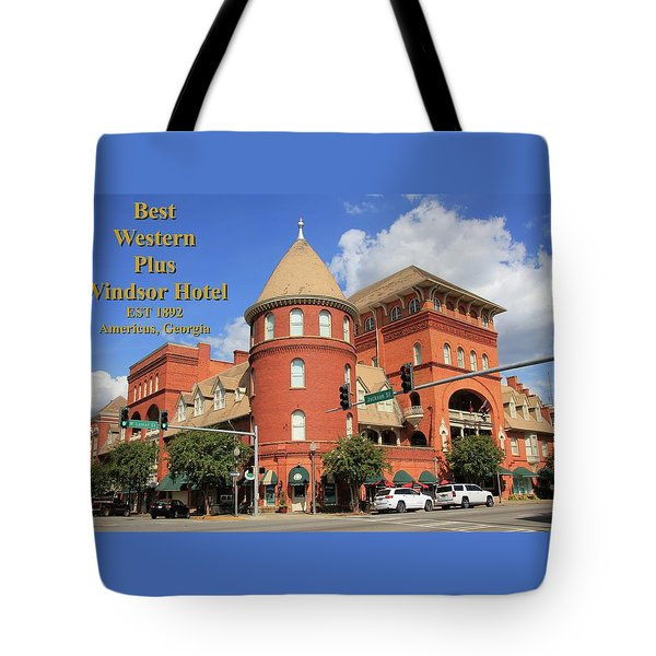 Best Western Plus Windsor Hotel Tote Bag