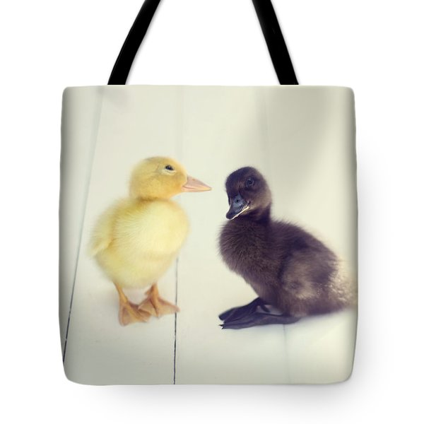 Tote Bag featuring the photograph Besties by Amy Tyler