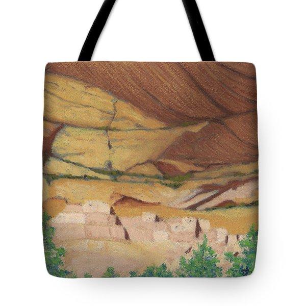 Betatakin Cliffdwellers Tote Bag