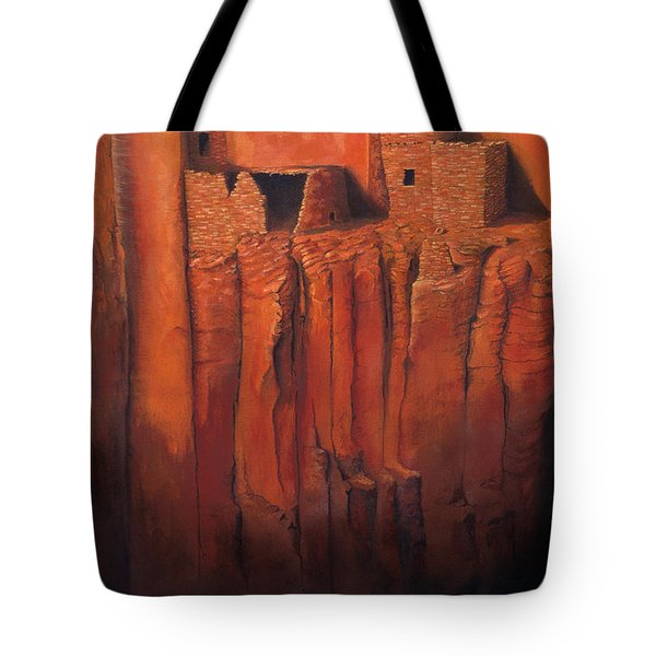 Betatakin Ruins Tote Bag by Jerry McElroy