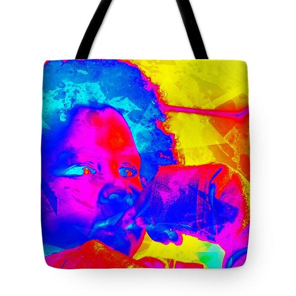 Look Above Hopelessness Tote Bag