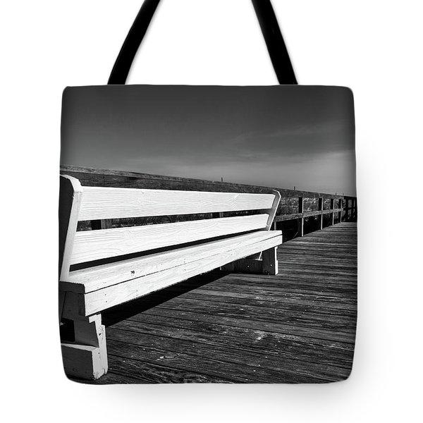 Bethany Beach Boardwalk Tote Bag