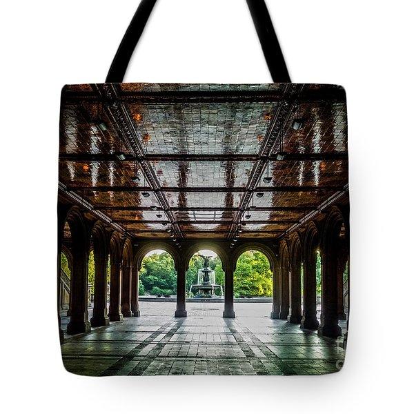 Bethesda Terrace Arcade 2 Tote Bag