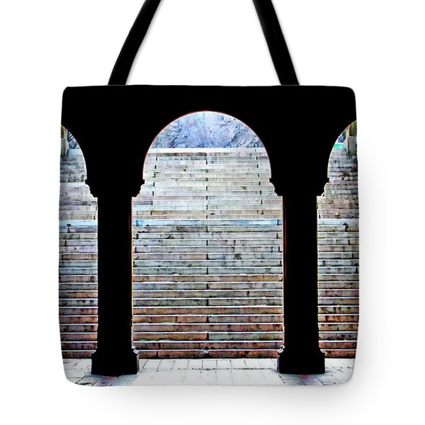Bethesda Terrace Arcade Tote Bag by Suzanne Stout