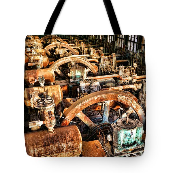 Bethlehem Steel Blower House Tote Bag