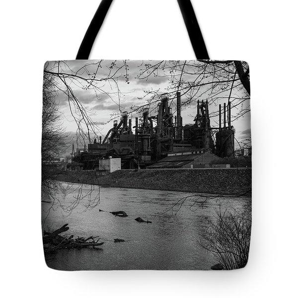 Bethlehem Steel Bw Tote Bag