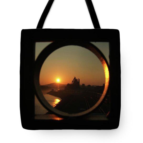 Bethlehem Sunrise Framed Tote Bag