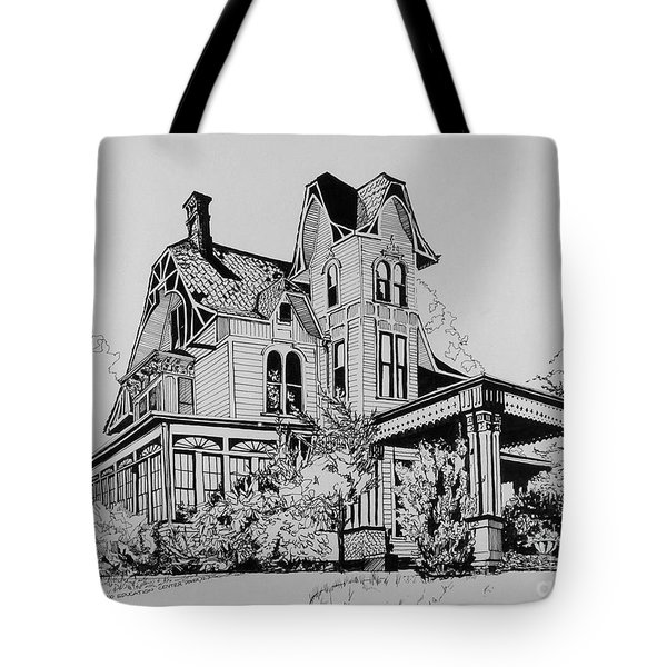 Betsy Ross' Home In Dover, N.j. Tote Bag