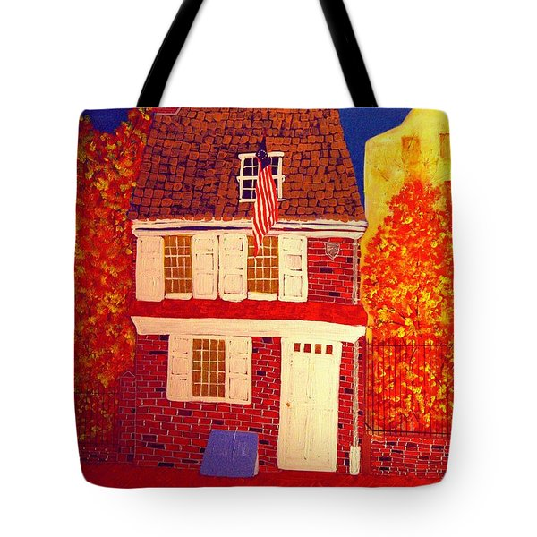 Betsy Ross's House Tote Bag