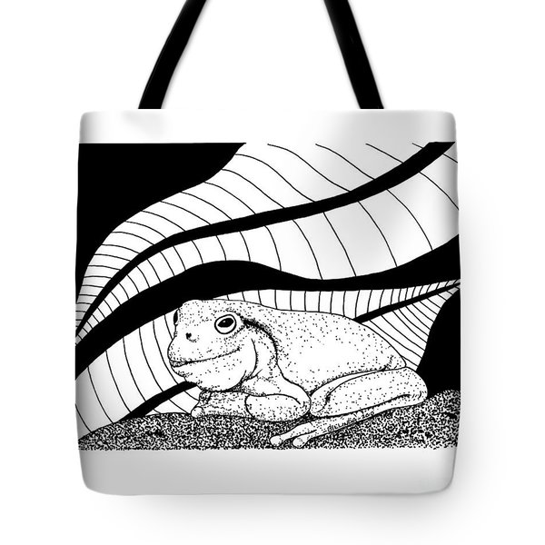 Betsy's Frog Tote Bag
