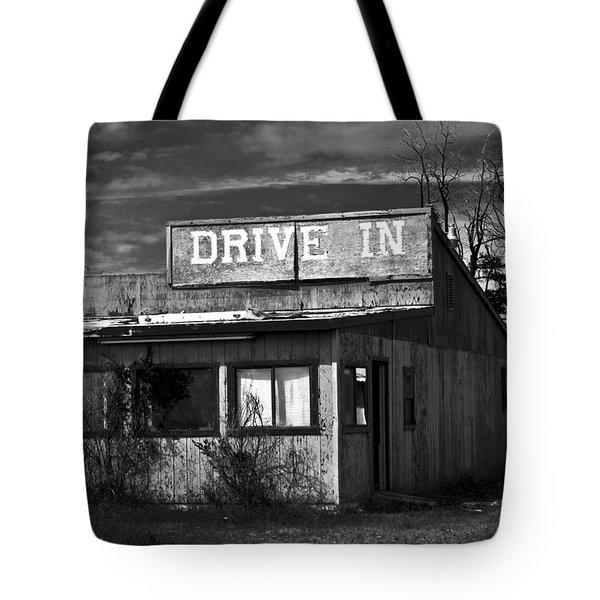 Better Days - An Old Drive-in Tote Bag