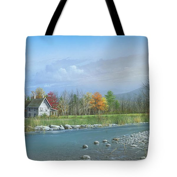Better Days Tote Bag by Mike Brown