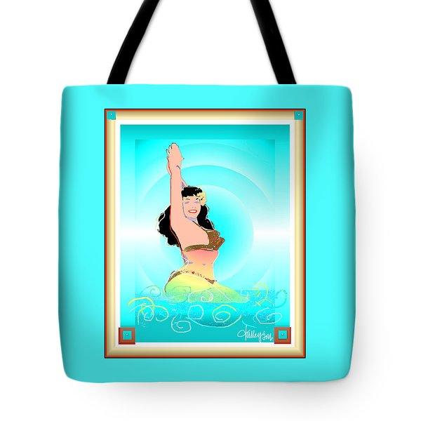 Bettie Page  Tote Bag