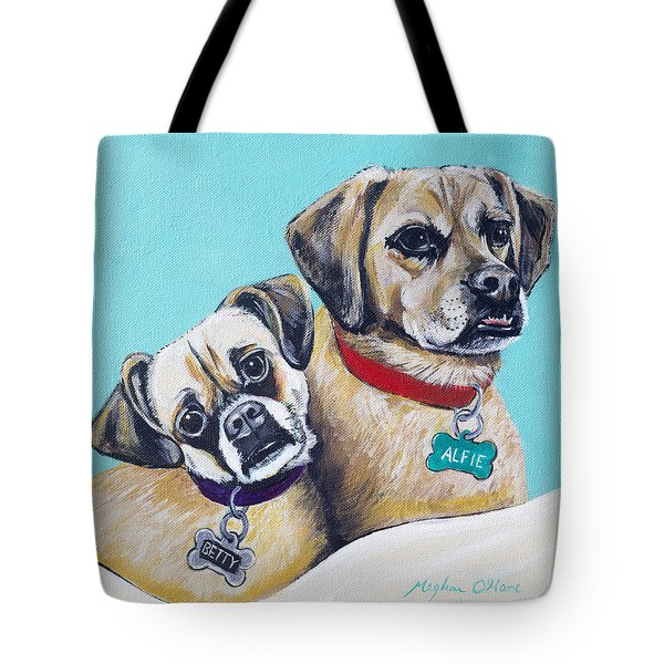 Betty And Alfie Tote Bag