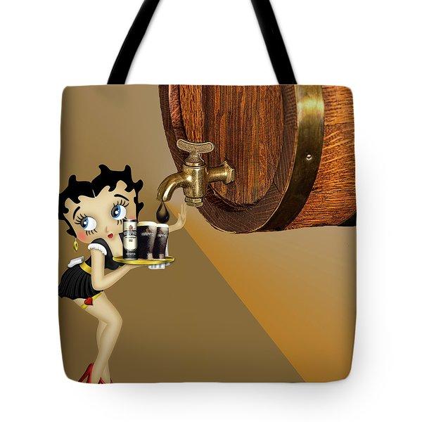 Betty Boop Serving Murphys Tote Bag