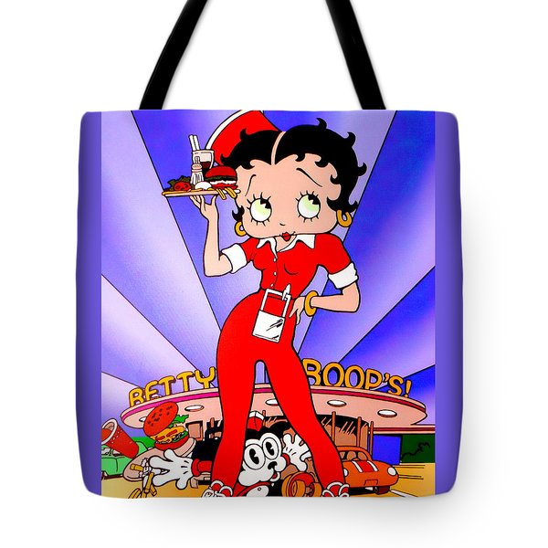 Betty Boop's Tote Bag