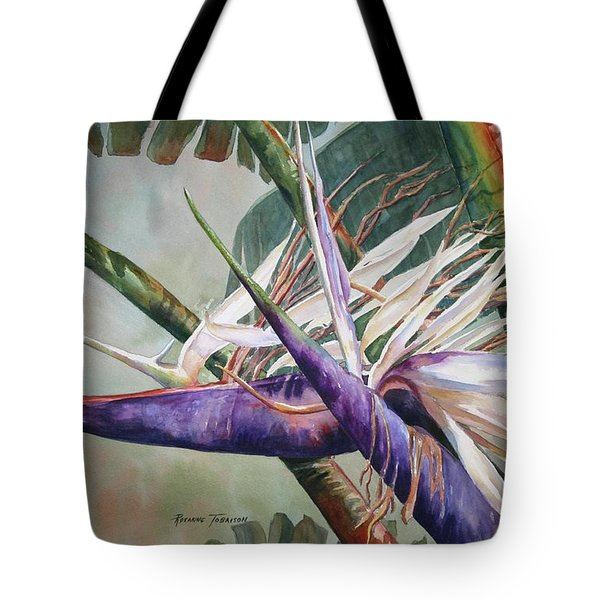 Betty's Bird - Bird Of Paradise Tote Bag