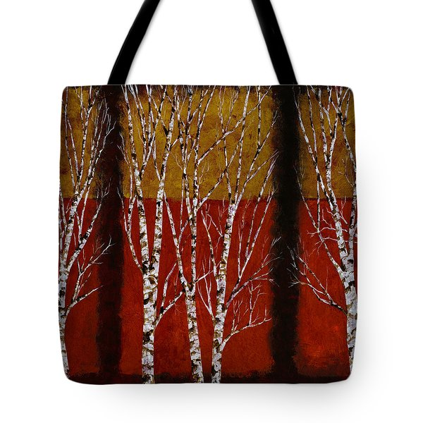 Betulle Quadrate Tote Bag by Guido Borelli