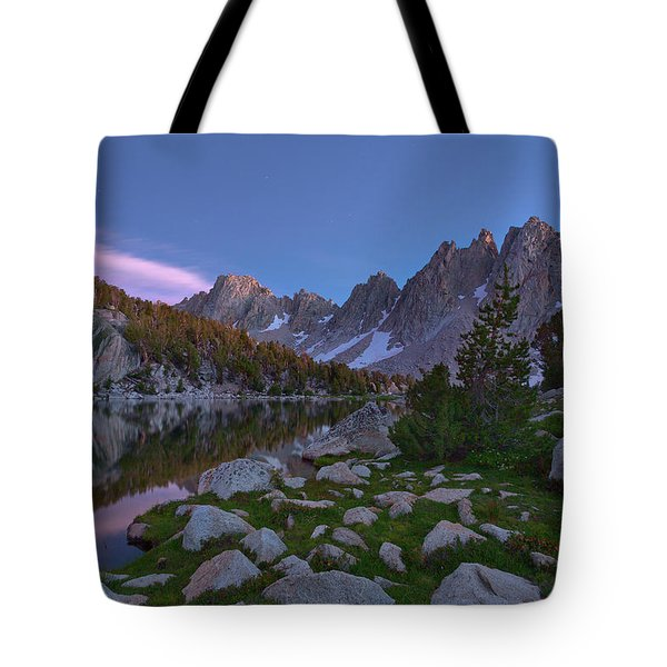 Between A Rock And A Soft Place Tote Bag
