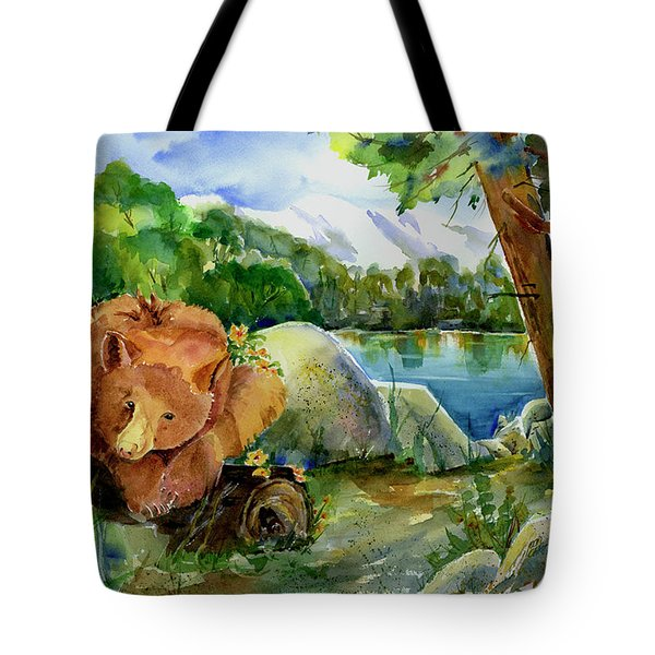 Between A Rock And Hardplace Tote Bag