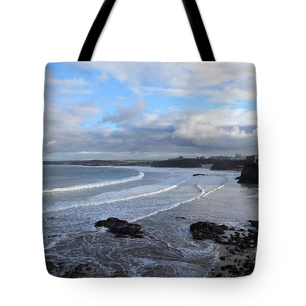 Between Cornish Storms 2 Tote Bag by Nicholas Burningham