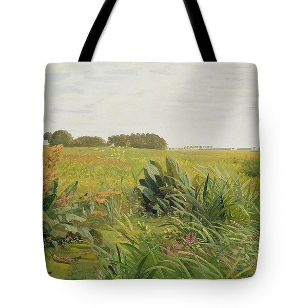 Between Geest And Marsh Tote Bag by Valentin Ruths
