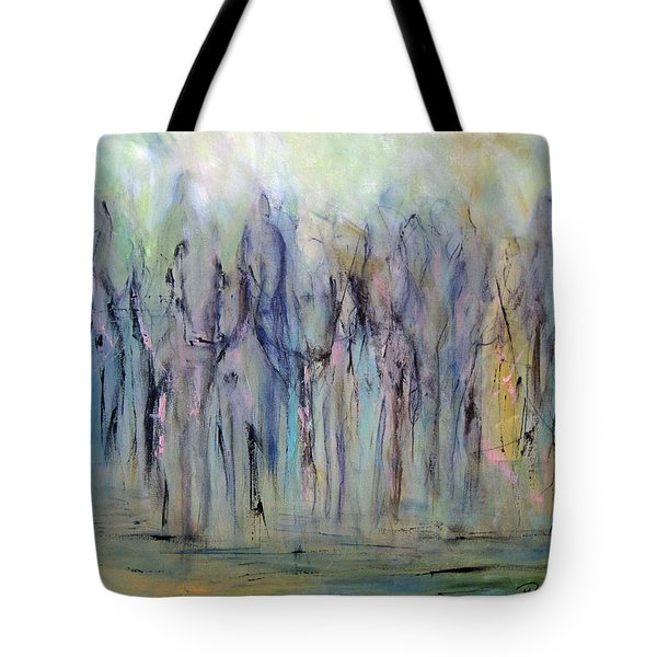 Between Horse And Men Tote Bag