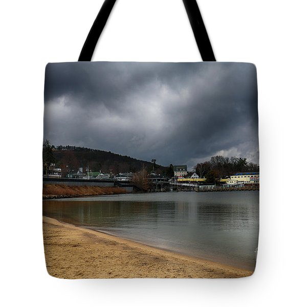 Between Raindrops Tote Bag