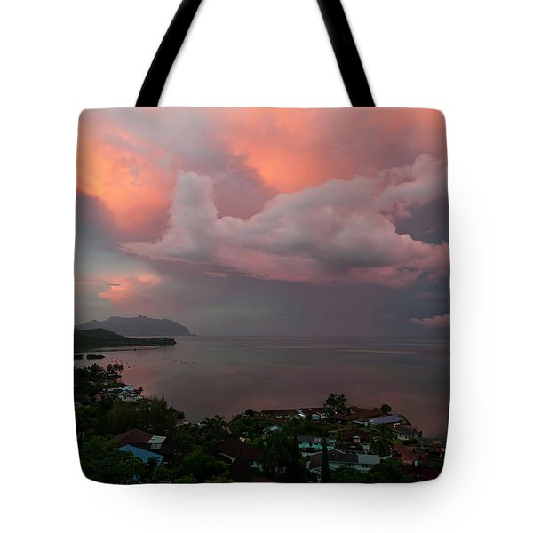 Between Rainstorms Tote Bag