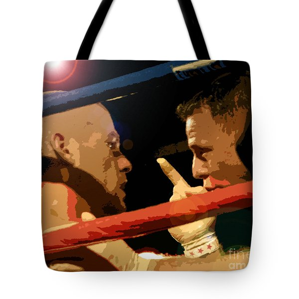 Between Rounds Tote Bag by David Lee Thompson