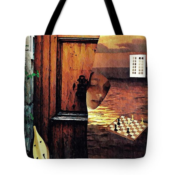 Between Tote Bag by Sarah Loft
