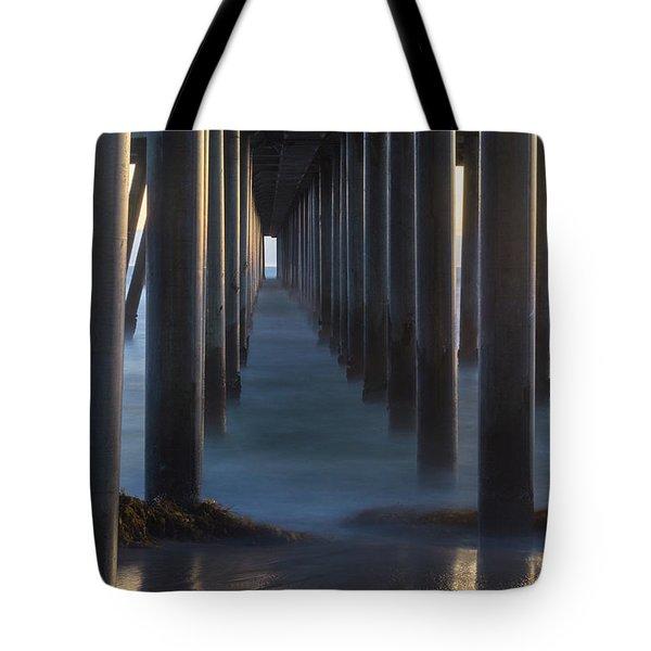 Between The Pillars  Tote Bag