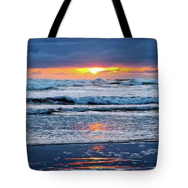 Between The Sky And The Waters Tote Bag