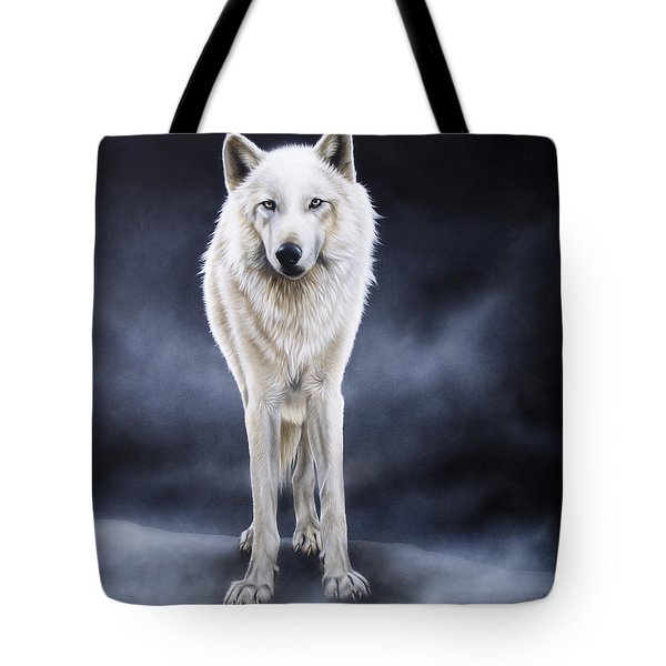 'between The White And The Black' Tote Bag by Sandi Baker