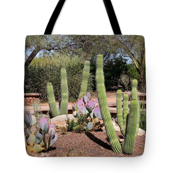 Tote Bag featuring the photograph Between Walls by Kathryn Meyer