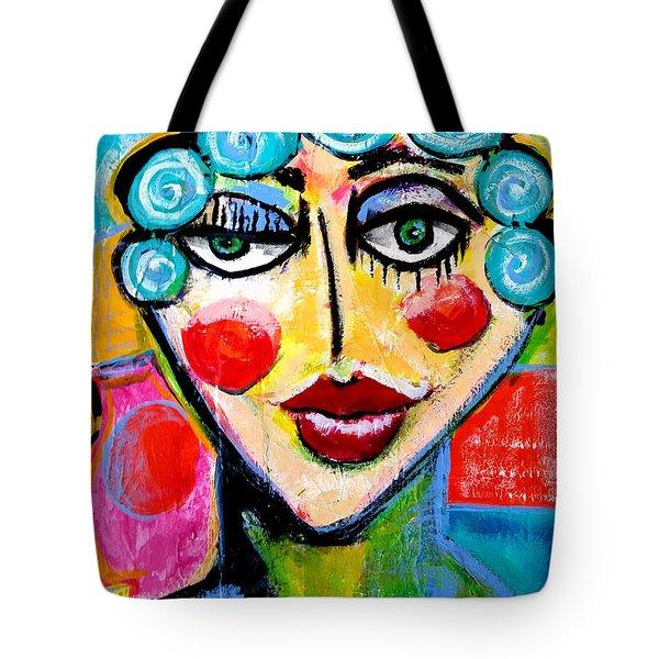 Beulah - Vivid Vixen 2 Tote Bag