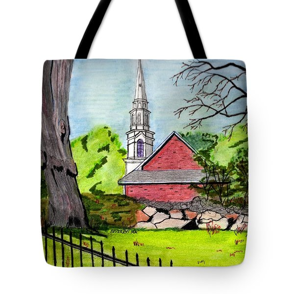 Beverly First Baptist Church Tote Bag