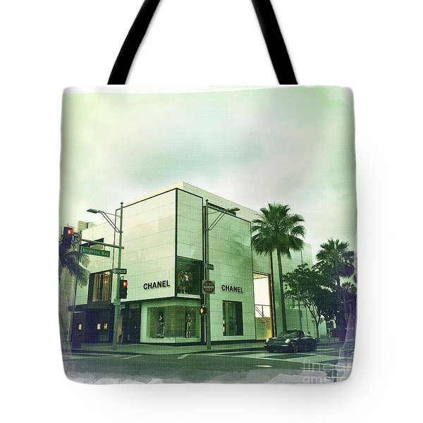 Beverly Hills Rodeo Drive 13 Tote Bag