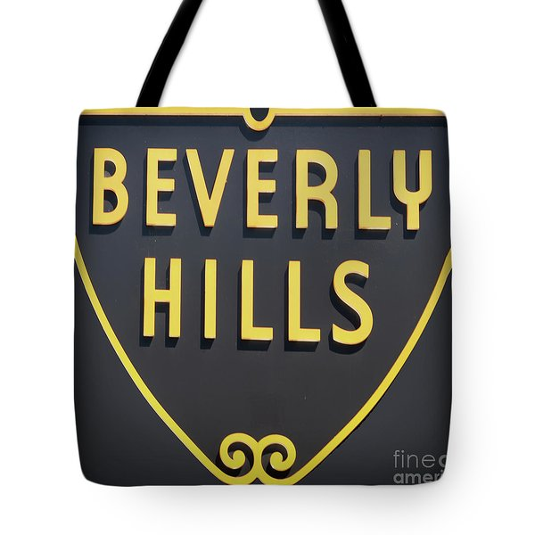 Beverly Hills Sign Tote Bag