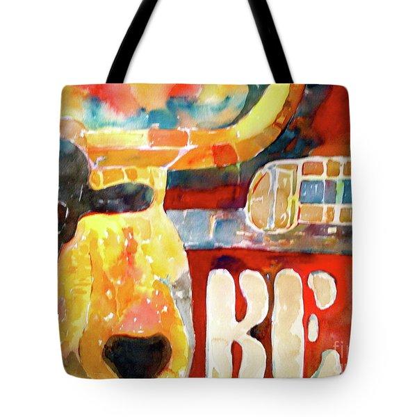 Bevo Unplugged Tote Bag