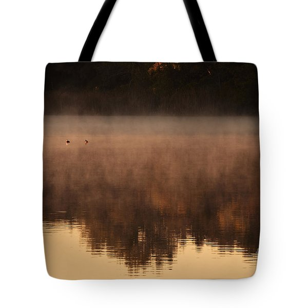 Tote Bag featuring the photograph Bev's Retreat by Tamyra Ayles