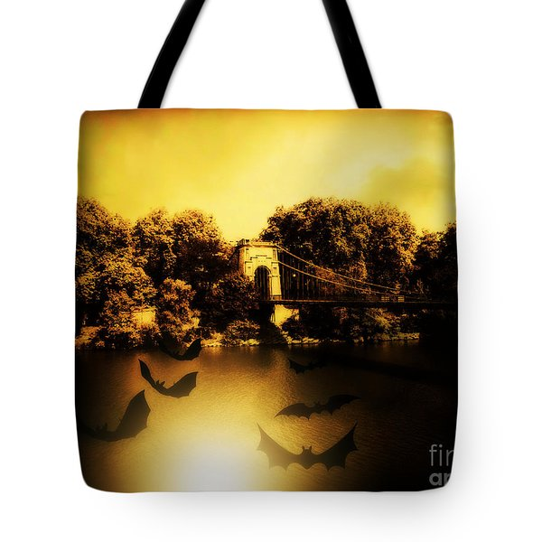 Beware Of Bats Tote Bag