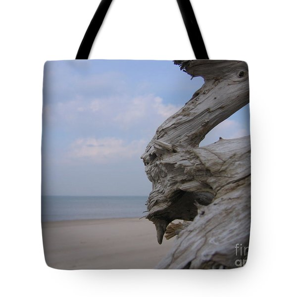Tote Bag featuring the photograph Driftwood by Maciek Froncisz