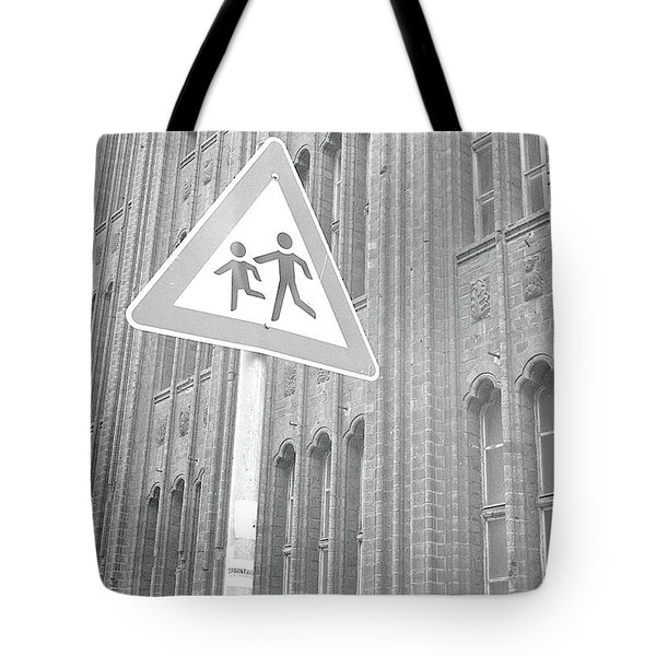 Beware Of The Children Tote Bag