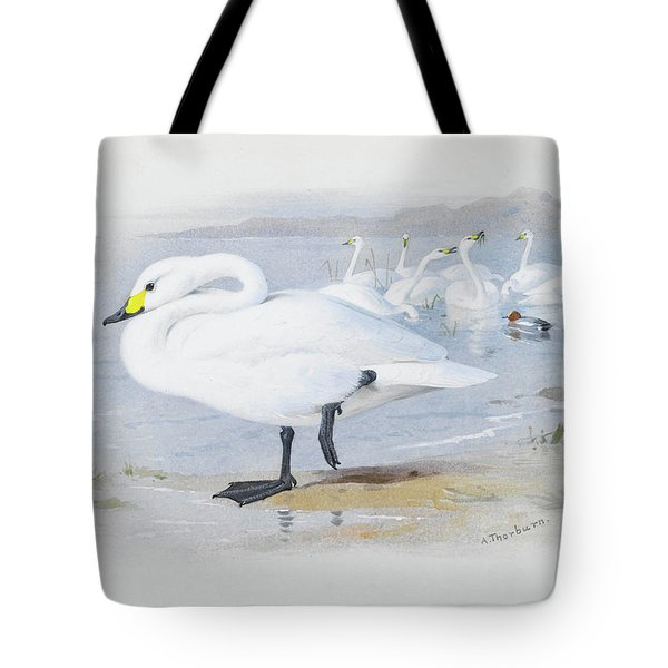 Bewick Swan By Thorburn Tote Bag