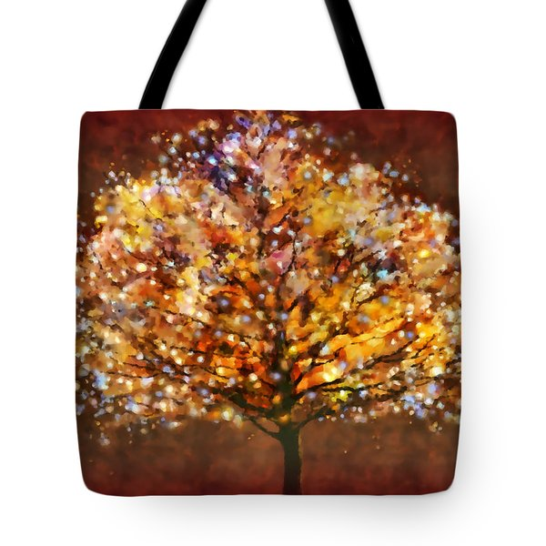 Starry Tree Tote Bag