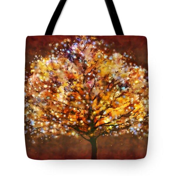 Starry Tree Tote Bag