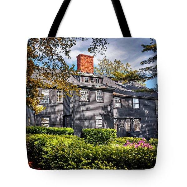 Bewitching Salem Tote Bag by Carol Japp